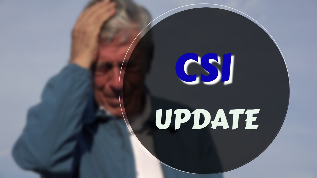 CSI / CSO Medicare Supplement Update