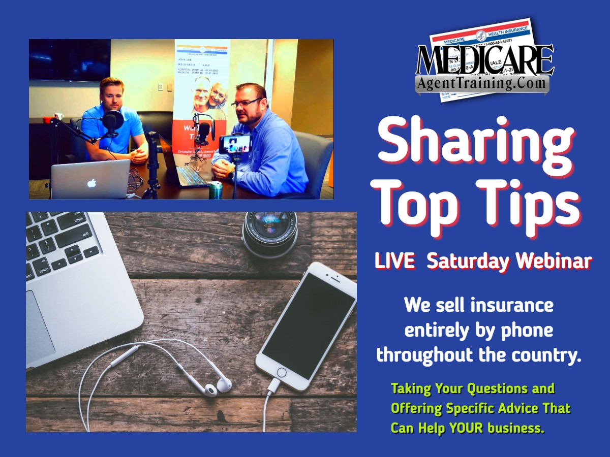 LIVE Saturday Q&A Webinar on Selling Medicare by Phone