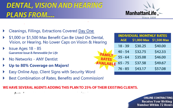 Dental + Vision + Hearing: Best Plan We've Found